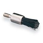 Young Prophy Brush - Screw-type Midget Standard Flat Black, package