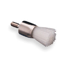 Young Prophy Brush - Screw-type Soft Flat White, package of 144 Brushes