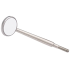 Crystal HD Mouth Mirror Head - #0 (14mm dia.) Cone Socket Stainless Steel