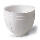 Mighty Mixer Dispos-A-Bowl - WHITE 36/Pk. Plastic disposable mixing bowl. Fits securley into