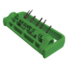 Steri-Bur Guard 12-Hole Bur Holder - Green, Adjustable & Sterilizable