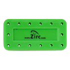 Zirc 14 Hole Neon Green, Magnetic Bur Block with Microban