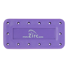Zirc 14 Hole Neon Purple, Magnetic Bur Block with Microban