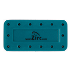 Zirc 14 Hole Teal, Magnetic Bur Block with Microban. Autoclavable/Chemiclavable