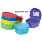 "Zirc Neon Purple Retainer Boxes - Deep 3""W x 1-1/2""D, package of 12"