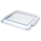 "Zirc Clear Locking Tub Cover, 12 3/4"" x 11 3/16"" x 1 3/8"", Cover Only"