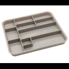 Zirc Gray Tub Insert, Desinged to fit inside the tub, Features 10 compartments
