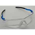 ZT Dental Safety Eyewear Clear Glasses with Blue tips, 1/Pk. Anti-fog lens