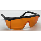 ZT Dental Safety Eyewear Orange Glasses, 1/Pk. Anti-LED, Non Anti-fog lens