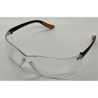 ZT Dental Safety Eyewear Clear Glasses with Orange Tips, 1/Pk. Anti-fog lens
